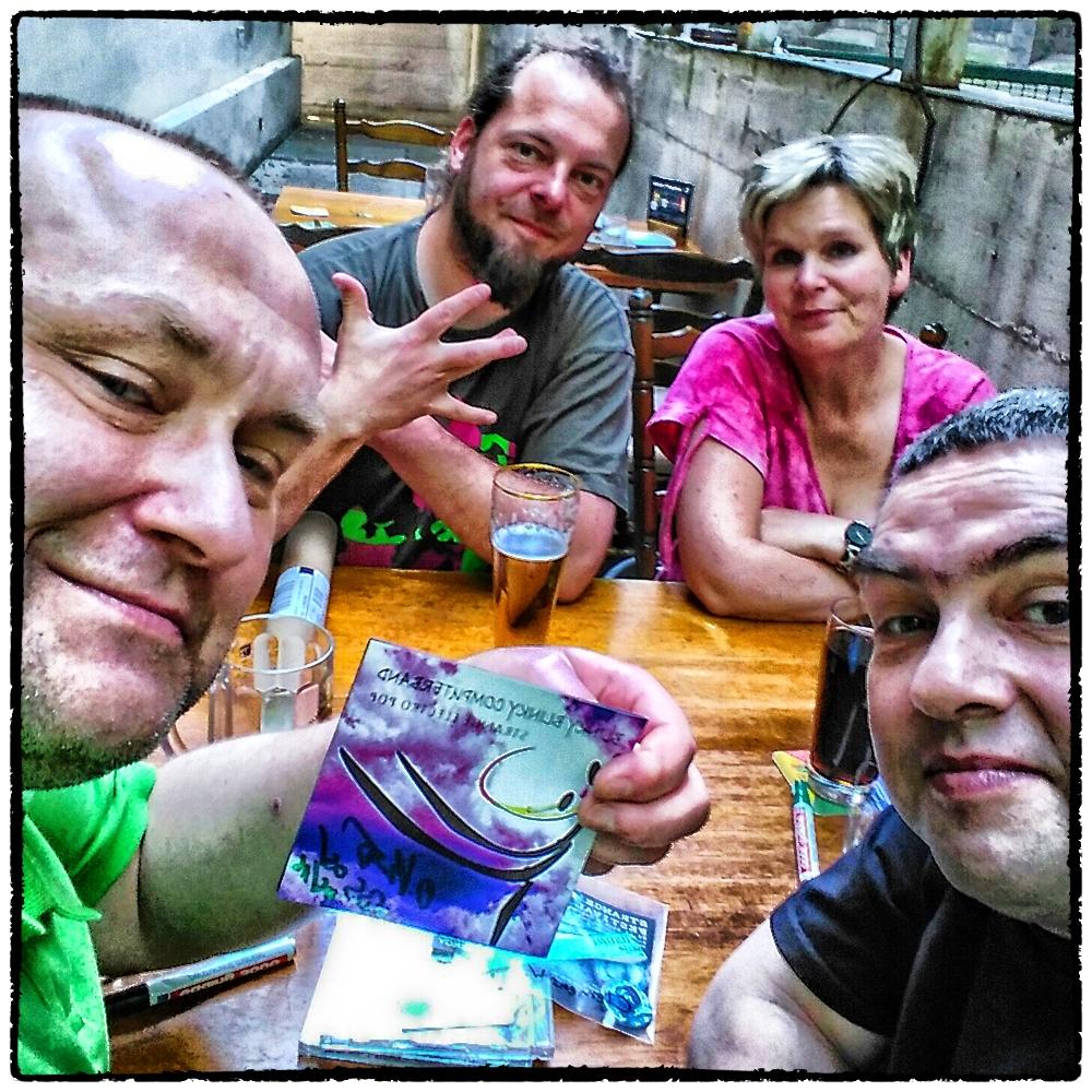 Clemens, Matze, Petra & Olaf @ Tegtmeyer