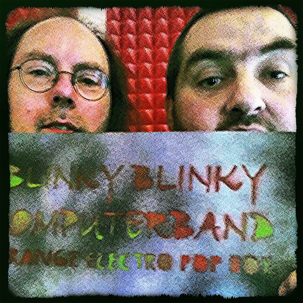 "Arni & Olaf with the ""Strange Electro Pop Box"""