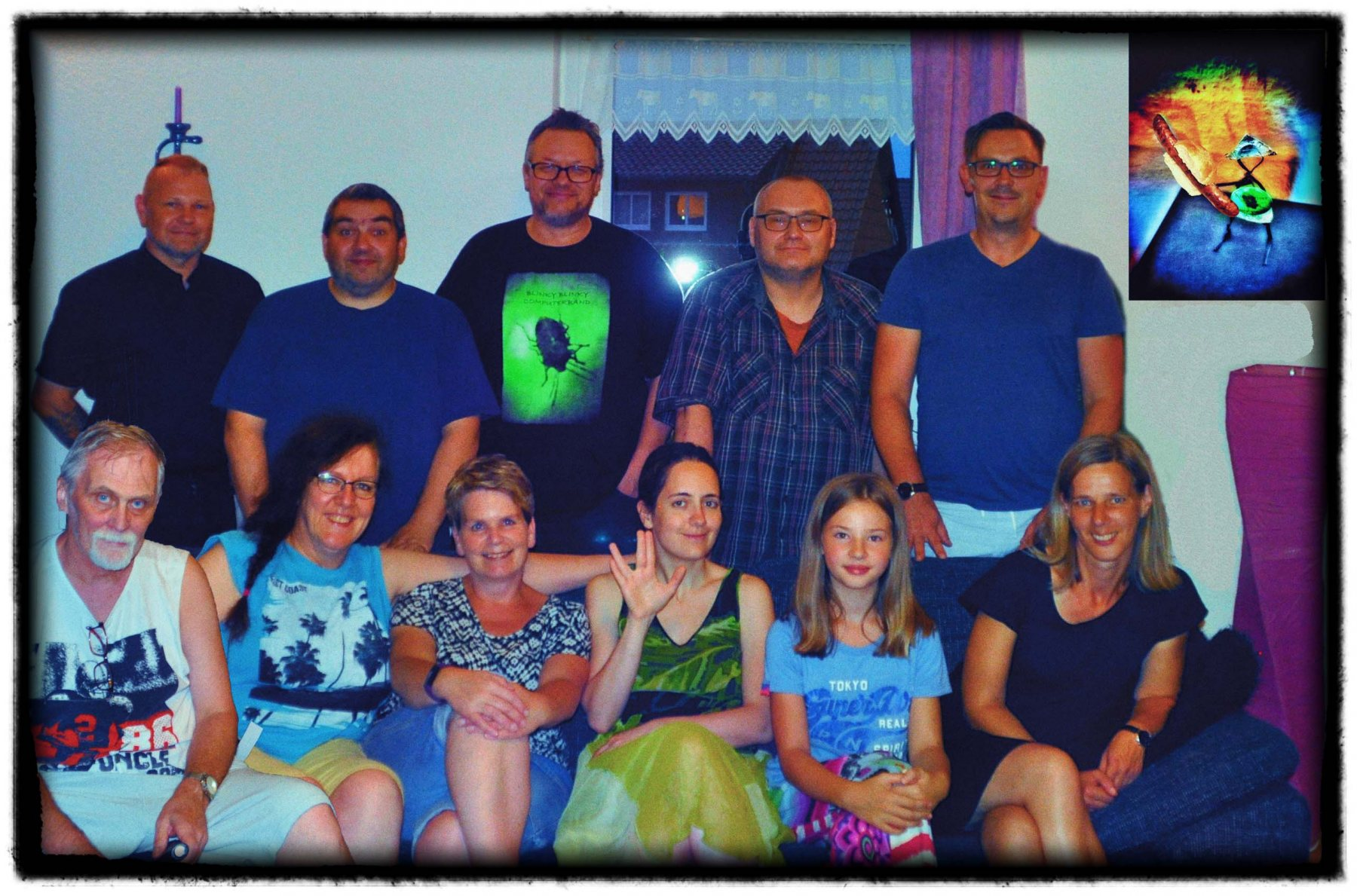 """Group Picture / """"jammern & grillen"""" jam session"""