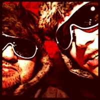 """Olaf & Henning / First """"Blinky"""" Photo Shooting 2013"""