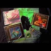 CDs, T-Shirt, Button & Lanyard