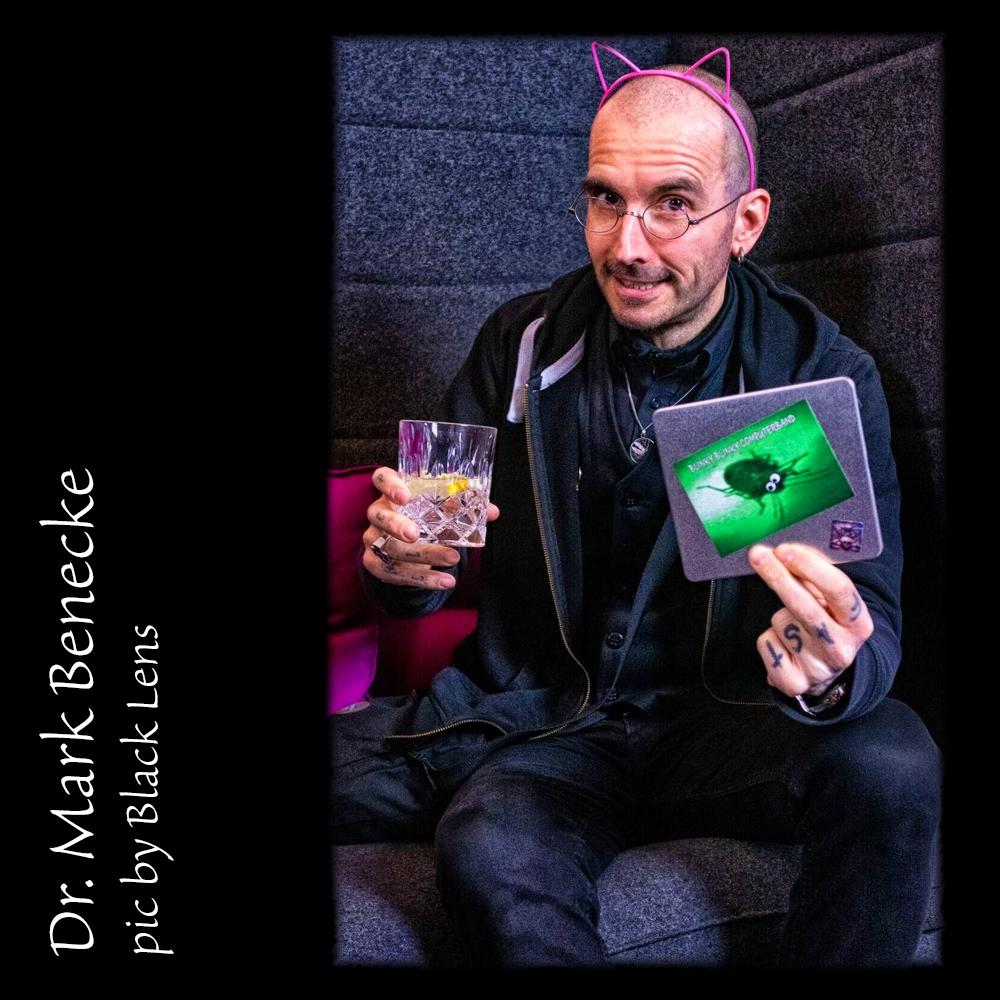 Dr. Mark Benecke / pic by Black Lens